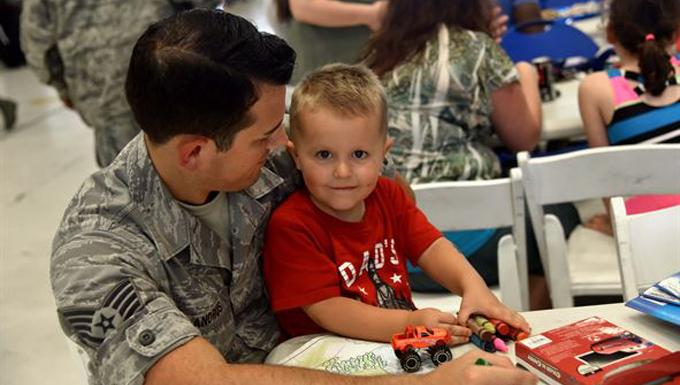 Citizen Airmen celebrate family